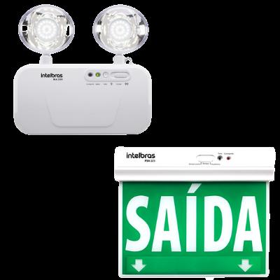 Iluminação e sinalização de emergência